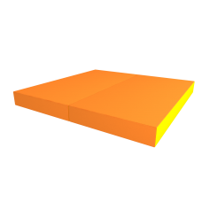 РОМАНА Мягкий щит pro (1000*1000*100), в 2 сложения