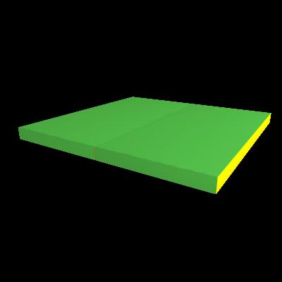 РОМАНА Мягкий щит kid (1000*1000*60), в 2 сложения