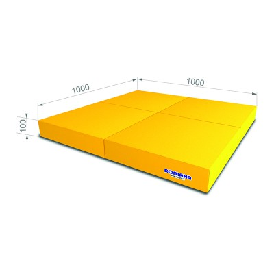 РОМАНА Мягкий щит pro (1000*1000*100), в 4 сложения