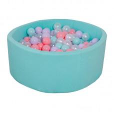 Сухой бассейн детский Romana Airpool (бирюзовый)